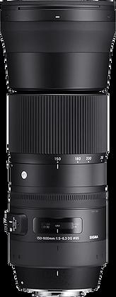 Sigma DG 150-600mm F5-6.3 OS HSM - Nikon Fit