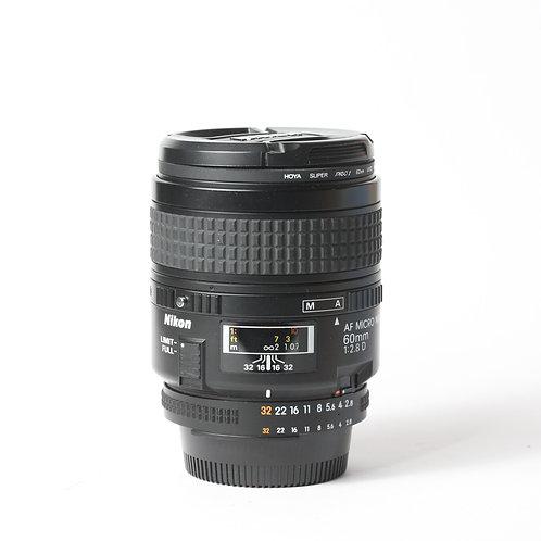 Nikon AF-D 60mm F2.8 Micro