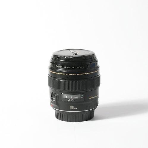 Canon EF 100mm F2 USM (Portrait) Lens