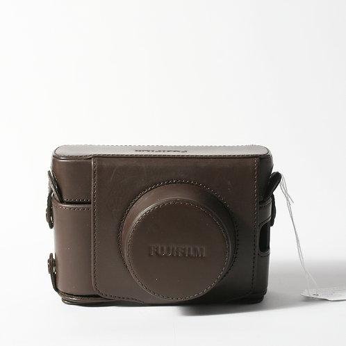 Fujifilm X100F Brown Leather Case