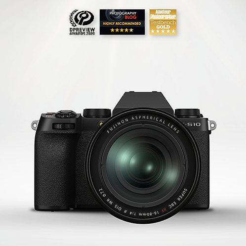 Fujifilm X-S10 & XF 16-80mm F4