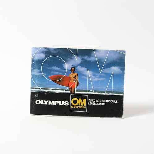 Olympus OM Lens Group Brochure