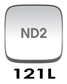 Cokin P121L Gradual Grey G2 Light (ND2) Filter - P series