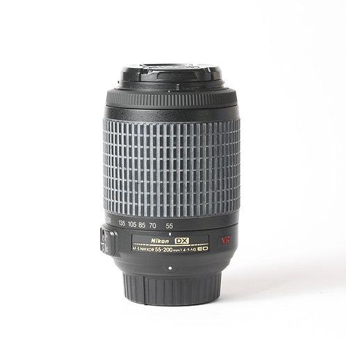 Nikon AF-S 55-200mm F4-5.6 DX VR