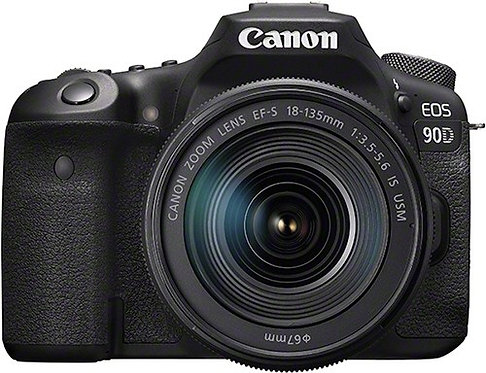 Canon EOS 90D & EF-S 18-135mm IS USM Lens