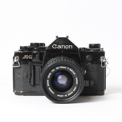Canon A-1 & FD 35-70mm F3.5-4.5