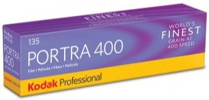 Kodak Portra 400 Professional Film 35mm Pack of 5