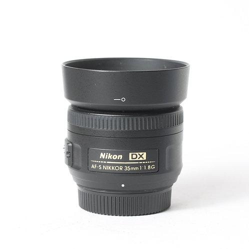 Nikon AF-S 35mm F1.8 DX