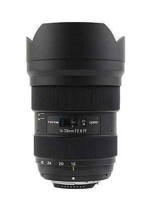 Tokina 16-28mm F2.8 Opera FF - Nikon Fit