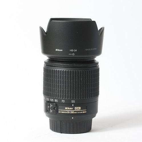 Nikon AF-S 55-200mm F4-5.6G DX