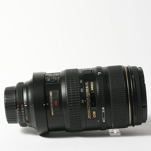 Nikon AF-D 80-400mm F4.5-5.6ED VR