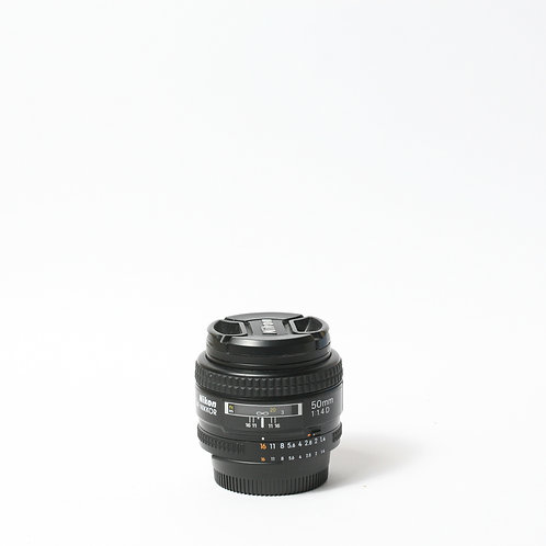 Nikon AF-D 50mm F1.4