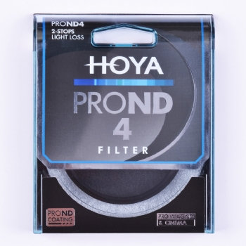 Hoya ProND 4 Neutral Density 2 Stop Filter