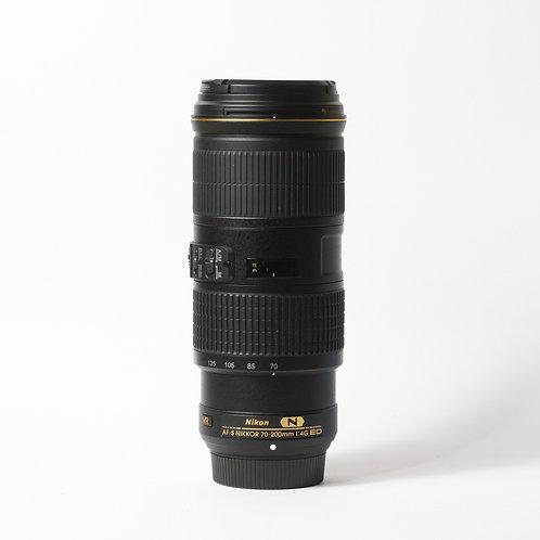 Nikon AF-S 70-200mm F4 VR ED