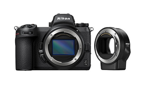 Nikon Z 7II & FTZ Mount Adapter