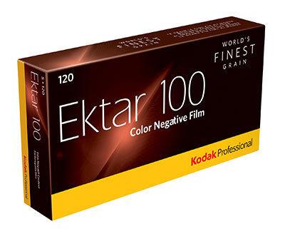 Kodak Ektar 120 Roll Film - 5 pack