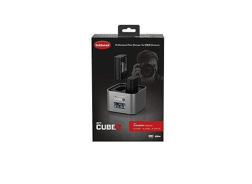 Hahnel ProCube2 - Canon Twin Battery Charger (LP-E6 / LP-E8 / LP-E17)