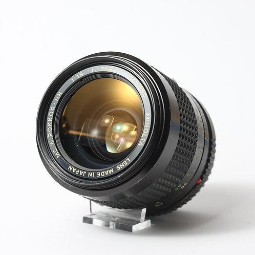 Minolta MC 35mm F1.8 Rokkor-HH