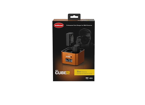 Hahnel ProCube2 - Sony Twin Battery Charger (NP-BX1 / FW50 / FZ100)