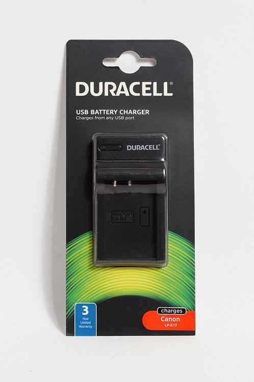 Duracell USB Charger for Canon LP-E17
