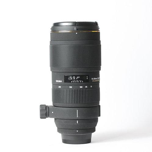 Sigma DG 70-200mm F2.8 HSM APO Macro