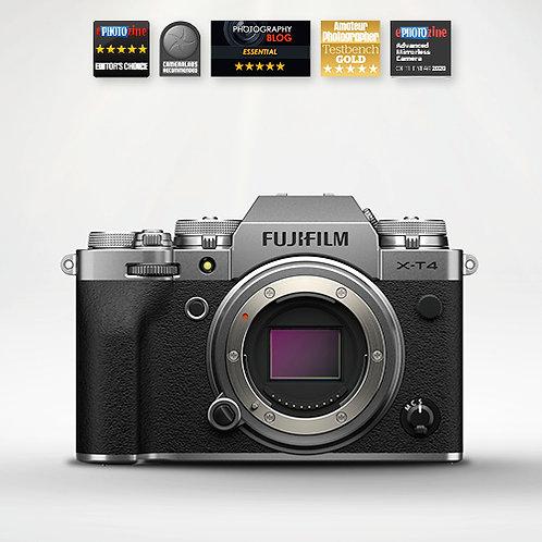 Fujifilm X-T4 Body Only - Silver