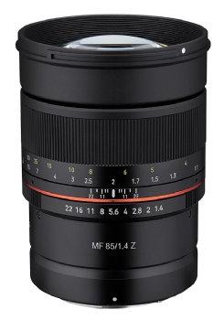 Samyang MF 85mm f1.4 Z Lens