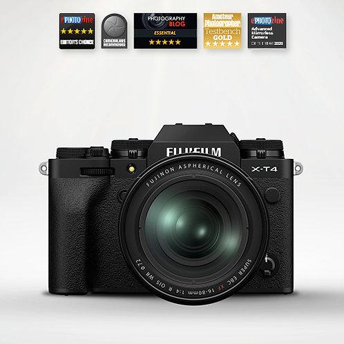 Fujifilm X-T4 & 16-80mm - Black