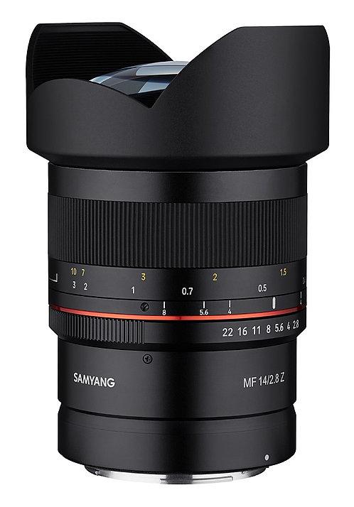 Samyang MF 14mm F2.8 Z Lens