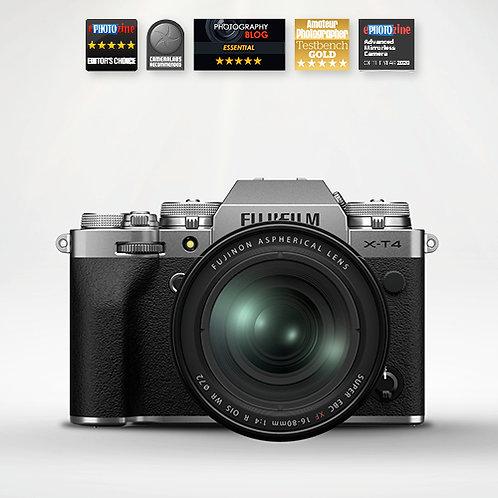 Fujifilm X-T4 & 16-80mm - Silver