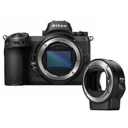 Nikon Z6 & FTZ Mount Adapter