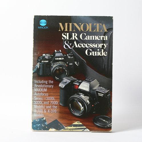 Minolta SLR Camera & Accessory Guide