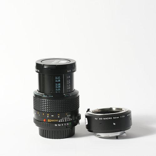 Minolta MD 50mm F3.5 Macro & MD Extension Tube