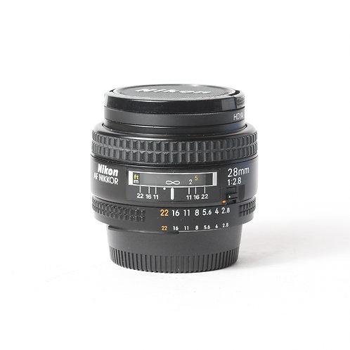 Nikon AF 28mm F2.8