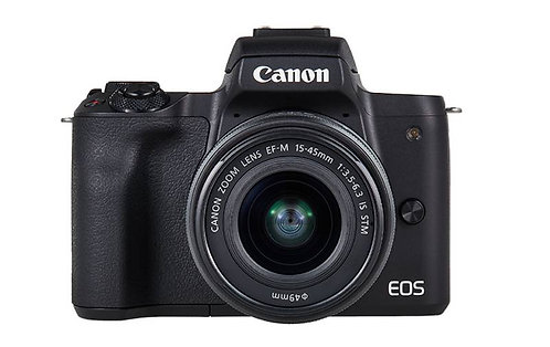 Canon EOS M50 & EF-M 15-45mm IS STM Lens Kit