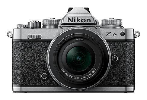 Nikon Z fc with 16-50mm SE VR lens