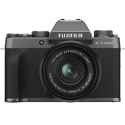 Fujifilm X-T200 & 15-45mm - Dark Silver