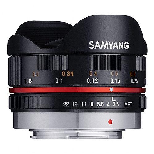 Samyang 7.5mm F3.5 UMC Fisheye - Black