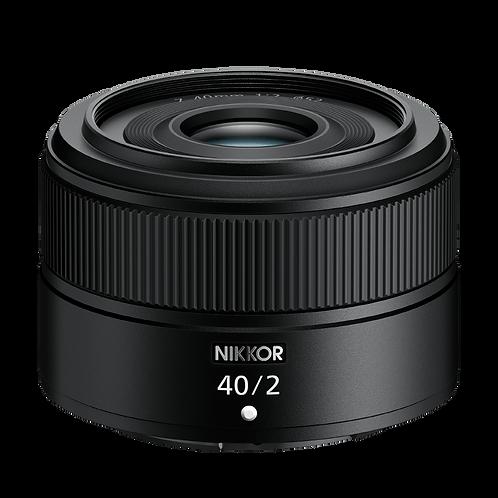 Nikon Z 40mm F2 Lens