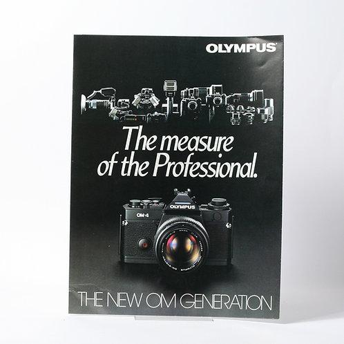 Olympus The New OM Generation Brochure