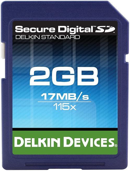 Delkin 2GB SD Card