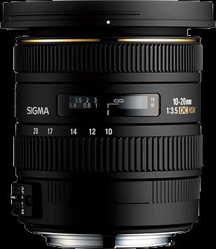 Sigma DC 10-20mm F3.5 EX HSM - Nikon Fit
