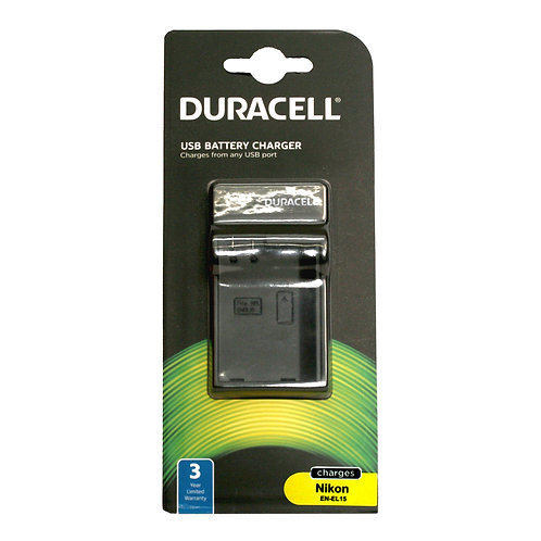 Duracell USB Charger for Nikon EN-EL15