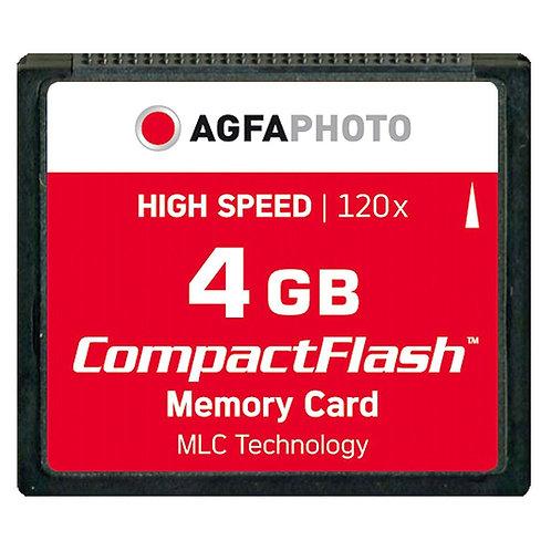 Agfa 4GB Compact Flash Card