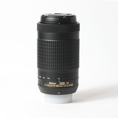 Nikon AF-P 70-300mm F4.5-6.3 DX VR