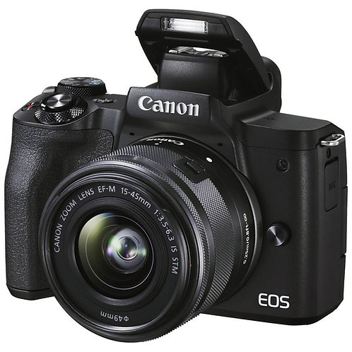 Canon EOS M50 MK II & 15-45mm IS STM lens