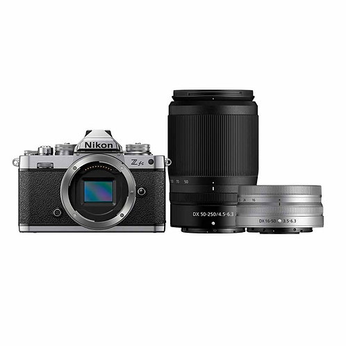 Nikon Z fc with 16-50mm SE VR & 55-250mm Twin Kit