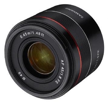 Samyang AF 45mm F1.8 - Sony FE Fit