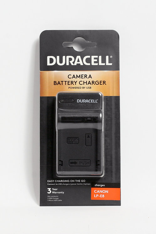 Duracell USB Charger for Canon LP-E8