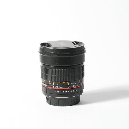 Samyang EF 85mm F1.4